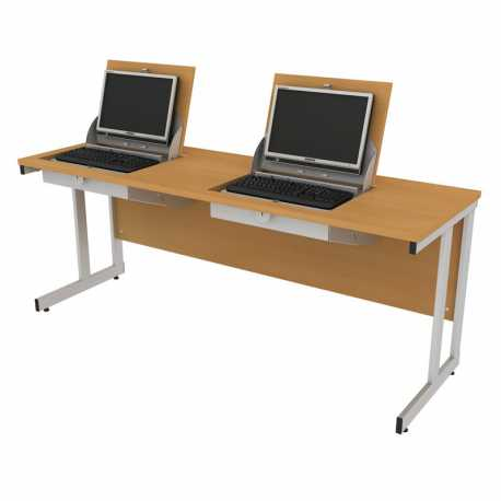 Smart Top ICT Desks - Two Person Computer Desks