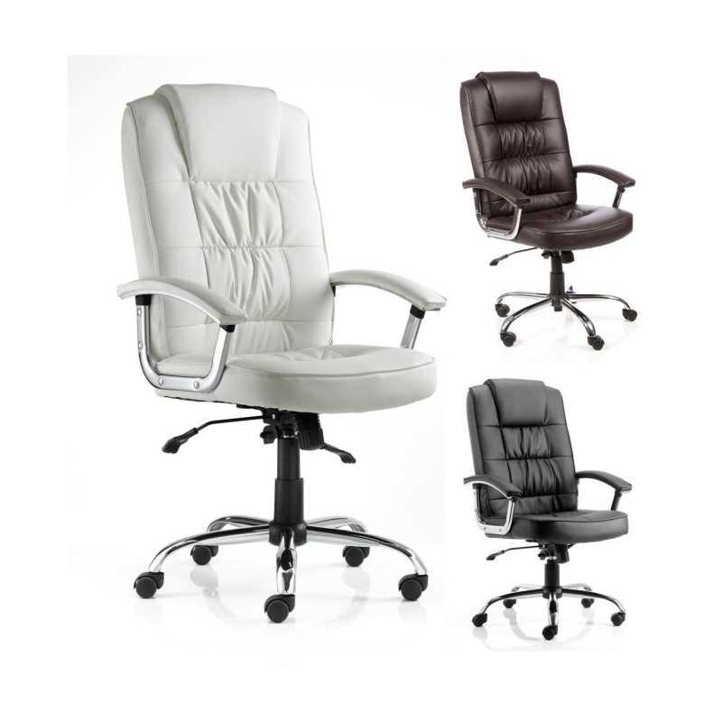 stylish high back leather executive armchair