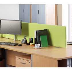 Rectangular Desk Mounted Screens