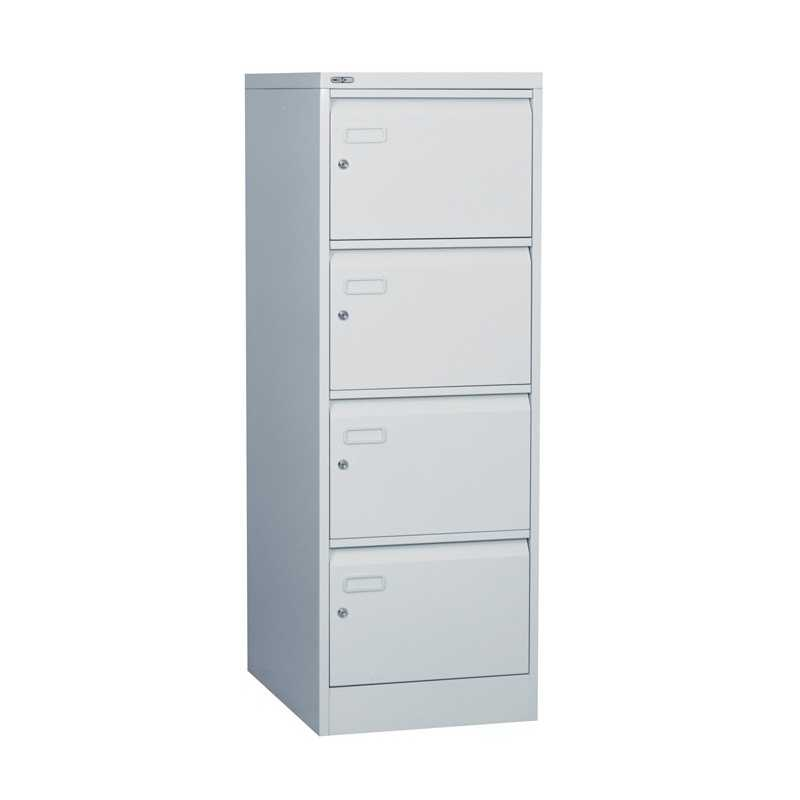 Cabinet With Individual Locking Drawers