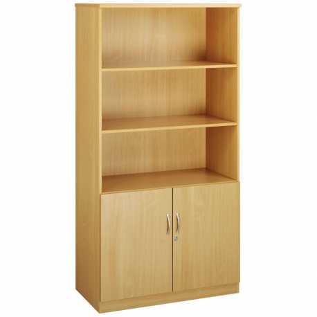Combination Units Wood Doors & Open Tops