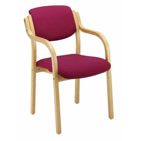 Westwood W11 Wooden Frame Chair with Arms