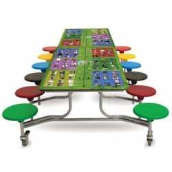 Mobile Folding Table with Smart Top