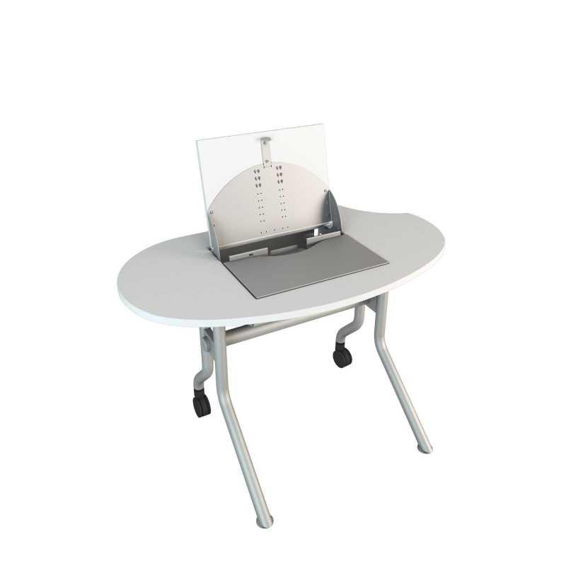 Smarttop secure computer desks for Flip top computer desk