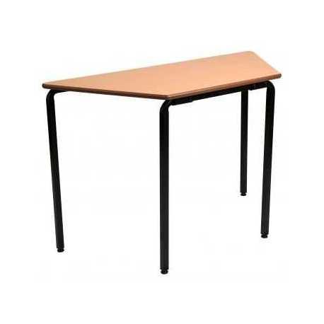 Trapezoidal Classroom Tables, Crush Bent Frame