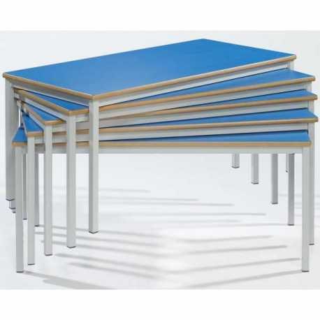 Rectangular classroom tables fully welded frame for Affordable furniture for college students