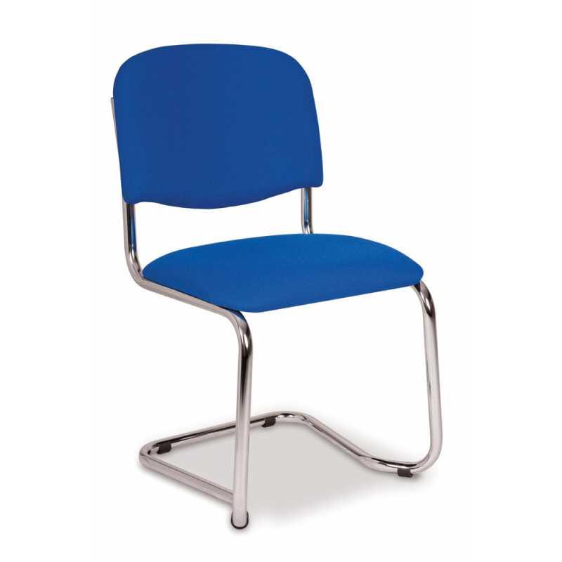 Chrome Cantilever Frame Chair