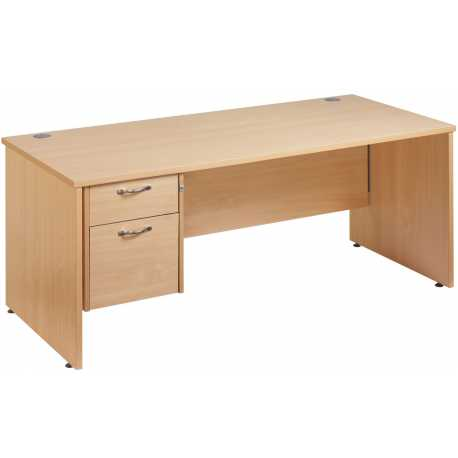 Maestro 25 Single Pedestal Desk Panel End