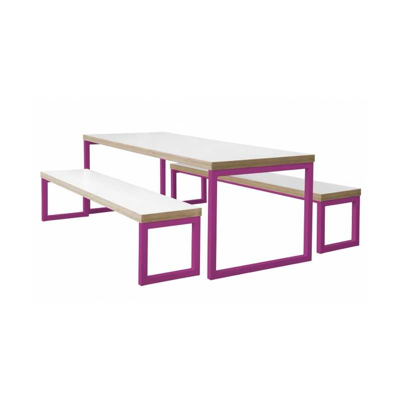 Canteen Tables Benches for School College Dining Room