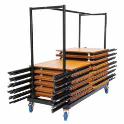 40 Exam Desk & Trolley Bundle