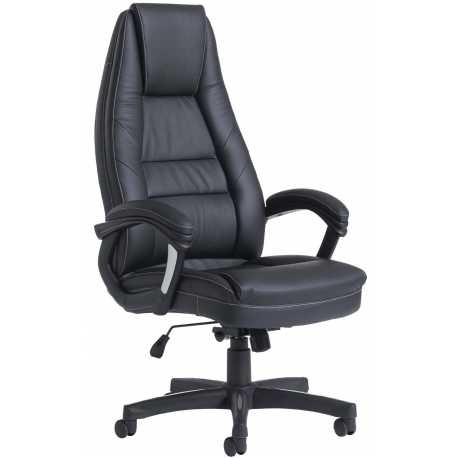 Noble Leather Faced Managers Chair