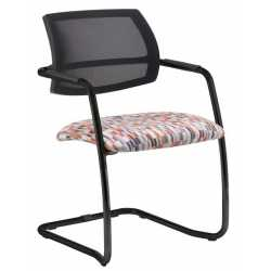 Tuba Cantilever Frame Mesh Back Chair