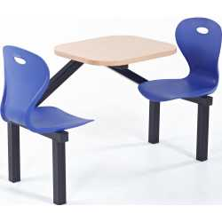 Leicester Table and Chair Canteen Unit