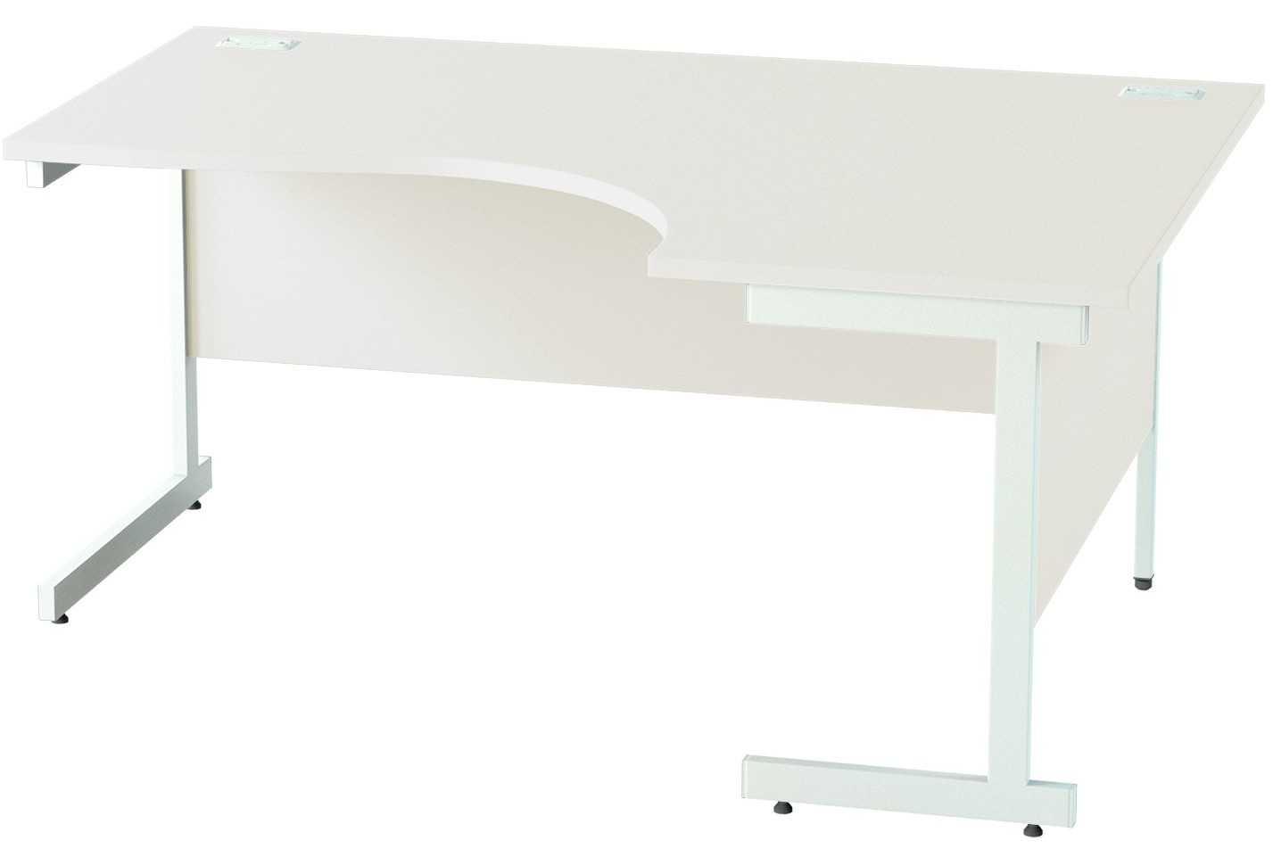 Satellite Crescent Corner Desk Ergonomic Radial Desks