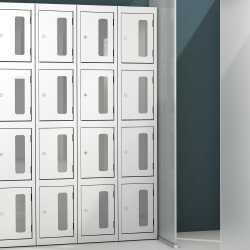 Silverline Vision Kontrax Lockers