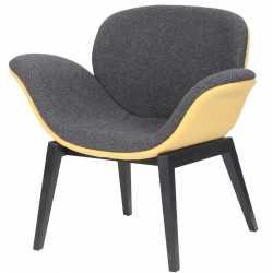Wayvee Wood Leg Reception Waiting Room Chairs
