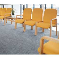 Yealm Wood Frame Reception Seating