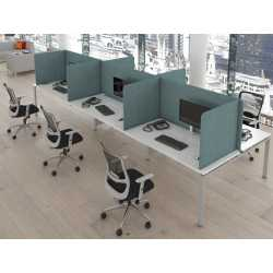Free Standing Procetive Desk Screens