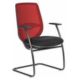 Ovair mesh back cantilever chair