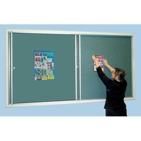 Safety Sliding Door Noticeboards. Doors do not open outwards or upwards.